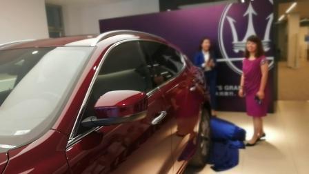 2018年7月  提新车 玛莎拉蒂 张慈航