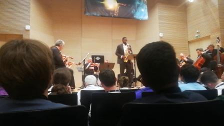 罗伯特杨博士《Edward Green》协奏曲2018萨格勒布世界萨克斯大会现场
