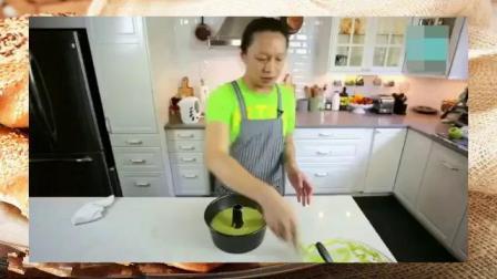 轻芝士蛋糕的做法 烘焙糕点 蛋糕的制作过程视频