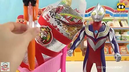 迪迦奥特曼面包超人商店 买南瓜糖果机和食玩_百度