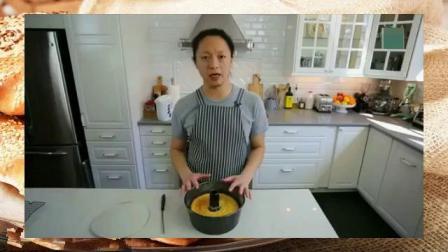 蛋糕制作过程 西点烘焙学校 新手裱花入门视频教程