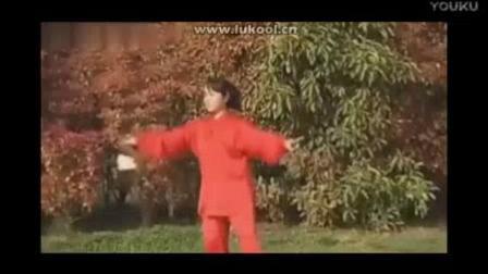 我在陈式太极剑49 第五、六节 郑冬霞截了一段小视频