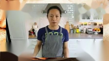 自制生日蛋糕的做法大全 蛋糕烘焙学习 刘清蛋糕培训学校