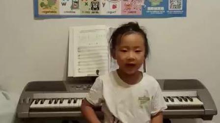 芝麻街英语北京丰台和谐中心王彦迪5岁