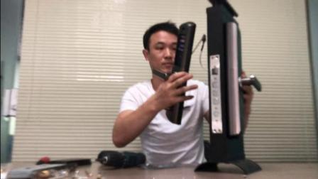 keside指纹锁-k2指导安装视频