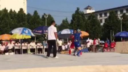 少林寺塔沟武术学校2018校运会45公斤级决赛.冠军张俊豪1