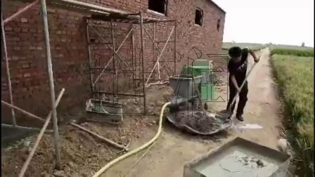 铁门关市HB砂浆喷涂机其实可以喷腻子万马奔腾
