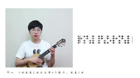 入门指弹教程第14课— F调音阶图