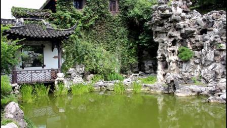 扬州何园游