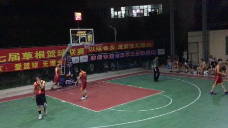20180730ILBA漳州第七届草根篮球联赛金盾篮球65vs