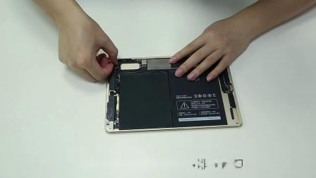 iPad6更换电池拆机教程