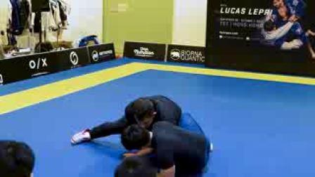 【摔跤教學】中文Collar Tie 反擊:Russian Tie或抱腿摔 中文