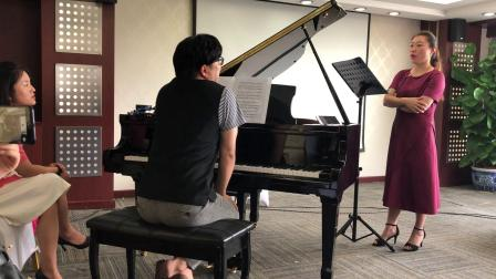 第十四届北京国际声乐大师班seho老师授课-万丹