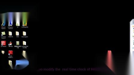Coolmay HMI time modification