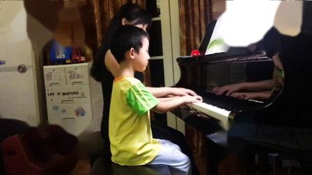 荷兰民歌-《罗蒙湖》,选自《少年儿童钢琴小品集1》