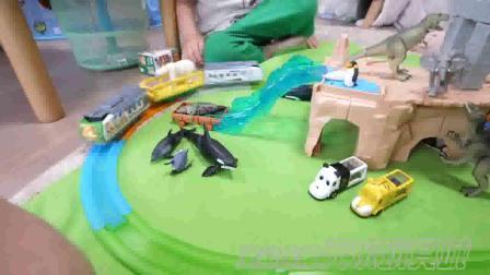 TAKARA TOMY 安利亚仿真野生动物模型 巨大遗迹套装 981510