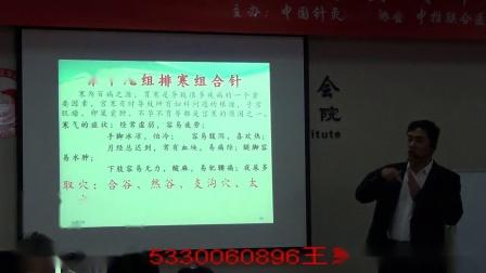 中医针灸推拿培训视频--魏朝军讲解一三针正骨组合针排寒针