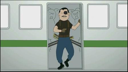钢之炼金术师4格小剧场第四期:再也不想坐电车上班了!