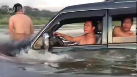 别人的猎豹汽车在路上走,你却把它在水里开