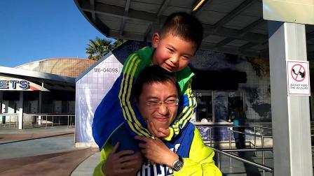 【6岁半】2-18哈哈肯尼迪航天中心骑爸爸脖子上video_163042