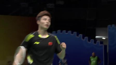 2018羽毛球世锦赛 石宇奇VS林丹集锦