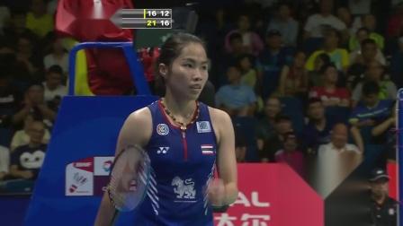 2018羽毛球世锦赛 内瓦尔VS因达农集锦