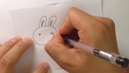 金龙手绘.简笔画小白兔的画法讲解