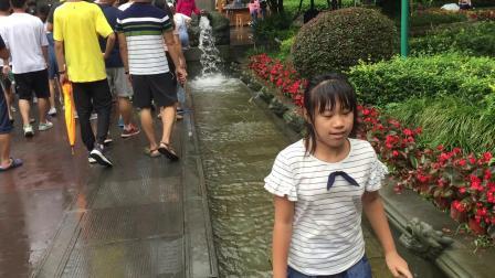 离堆公园踩踩水