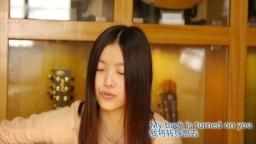 李星月《无缘的爱人》指弹吉他弹唱