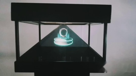 360°全息幻象柜