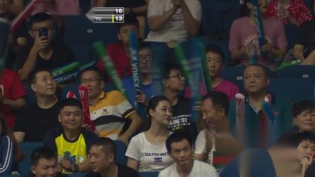 2018羽毛球世锦赛 陈清晨贾一凡VS波莉拉哈尤集锦