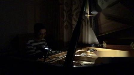 钢琴版《城里的月光》