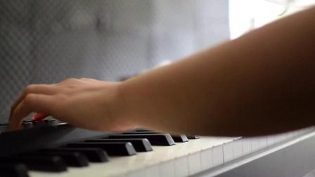 钢琴 张韶涵《隐形的翅膀》yamaha cp4电钢琴