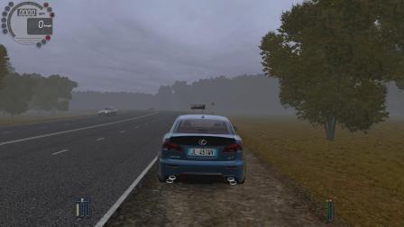 城市汽车驾驶 雷克萨斯IS300Fsport  City Car Driving