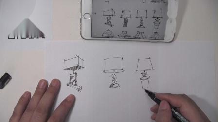 罗丹美术手绘——室内家具手绘画法