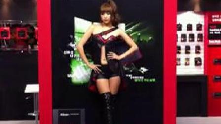 李恩慧 2012 G Star 游戏展 show girl_标清