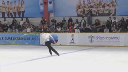 Se Jong BYUN Asian Open Figure Skating Trophy 2018 Men - Free Skating-2