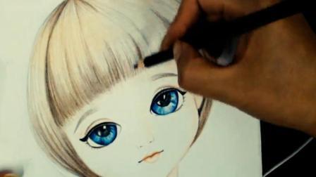 转手绘插画设计培训班教程_美术绘画作品_画画视频_大鹏教育