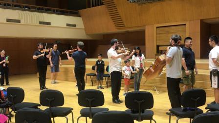 北京音乐厅 弦乐四重奏 互动3