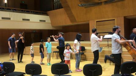 北京音乐厅 弦乐四重奏 互动4
