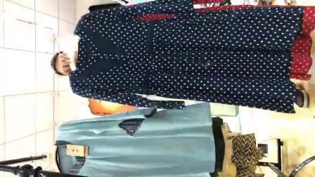 大版型面吗秋款连衣裙视频款式10件300一份,品牌折扣女装批发走份,VX 13735622014