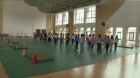 《跨越式跳高》優質課(三年級體育,江蘇省市級優課)