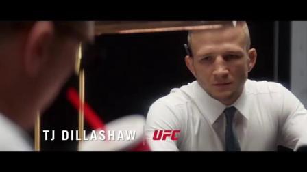 UFC冠军拍摄的衬衫广告