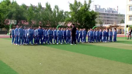 《跨越式跳高》優質課(科學版四年級體育,蔣寶東)