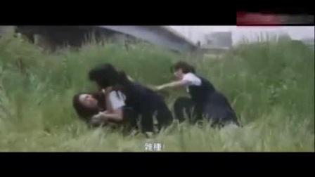 我在日本女高中生郊外打架, 撕扯的很给力截了一段小视频