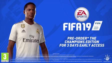 【TGBUS】《FIFA 19》足球征程模式宣传片 Hunter加盟皇马