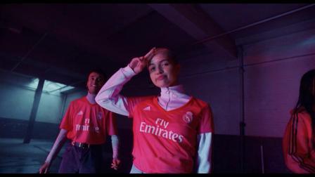 阿迪达斯推出使用Parley海洋塑料2018-19赛季皇家马德里第二客场球衣