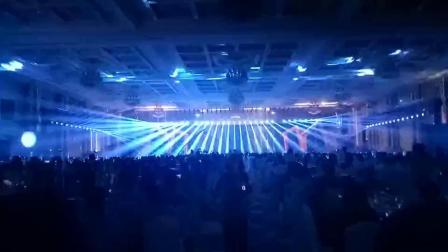 杭州太虚湖金色大厅修正药业灯光秀