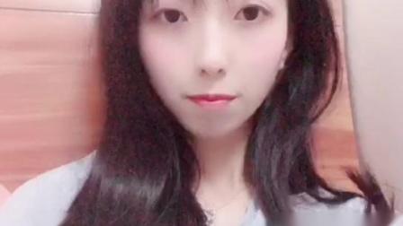 微信小视频:美女Q友静静「在床上睡前自拍」 - 微信视频
