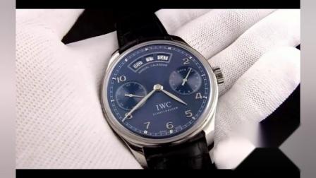 万国葡萄牙系列进口改装52850机械多功能手表